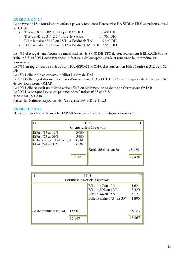 Comptabilite generale cours et exercices corriges [www.cours-economie…