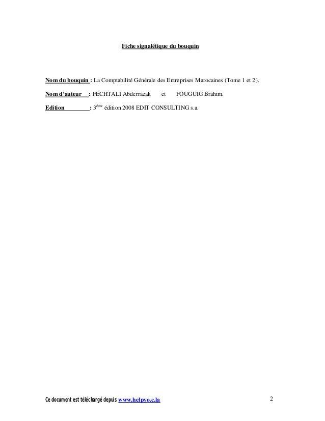 comptabilité générale brahim aaouid pdf
