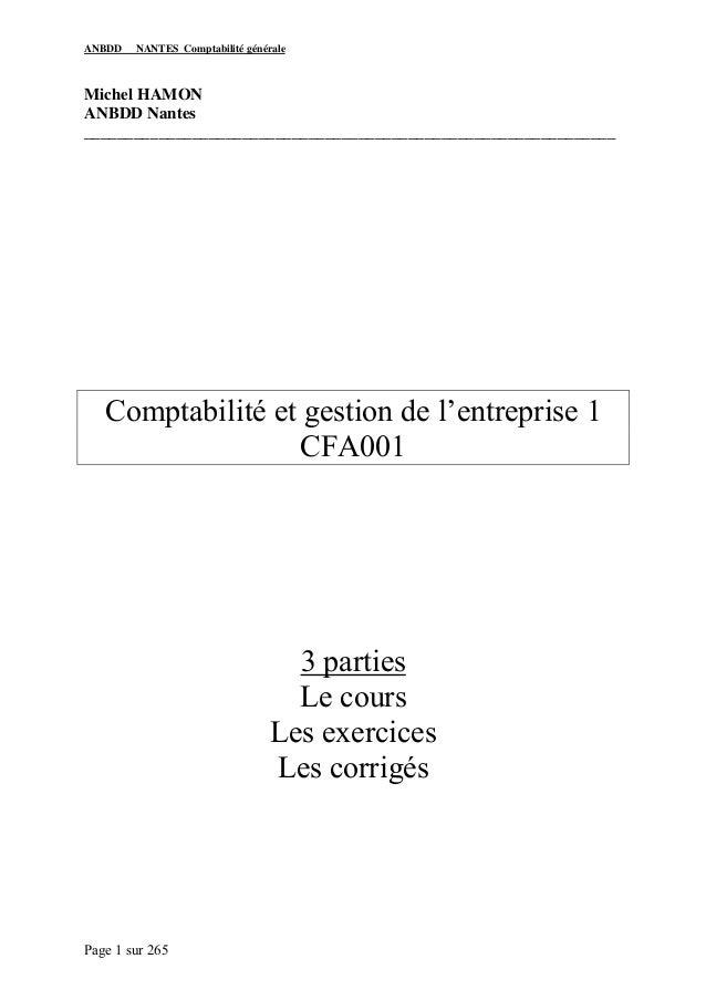 ANBDD   NANTES Comptabilité généraleMichel HAMONANBDD Nantes______________________________________________________________...