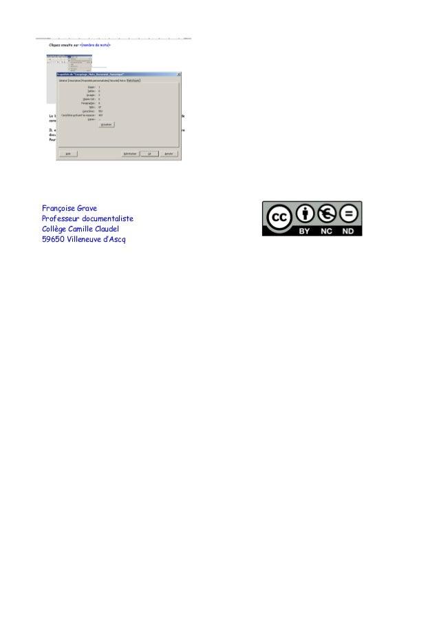Comptage mots document_numerique Slide 2