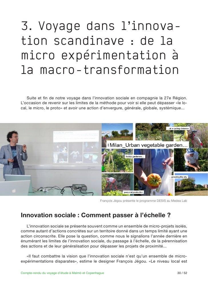 3. Voyage dans l'innova-tion scandinave : de lamicro expérimentation àla macro-transformation                             ...