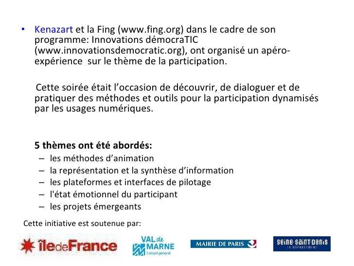 La participation citoyenne Slide 3