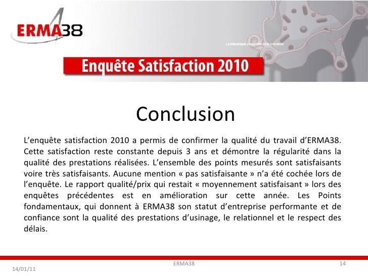 Rapport D Enquête De Satisfaction Exemple - Le Meilleur ...