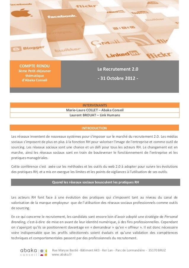 Rue Maryse Bastié -Bâtiment AK3 - Ker Lan - Parc de Lormandière - 35170 BRUZwww.abaka.frLes réseaux inventent de nouveaux ...