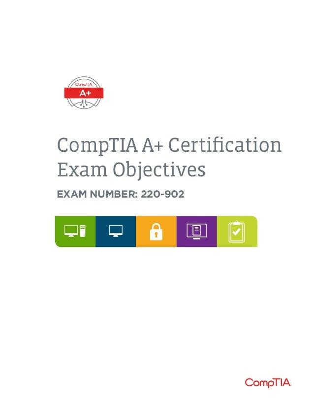 Comptia a-220-902-exam-objectives