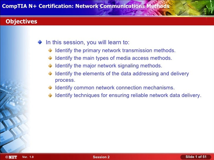 CompTIA N+ Certification: Network Communications Installation Installing Windows XP Professional Using Attended Methods Ob...