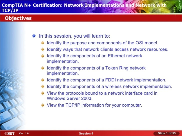 CompTIA N+ Certification: Network ImplementationsInstallation with Installing Windows XP Professional Using Attended and N...