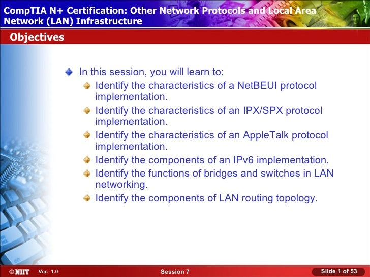 CompTIA N+ Certification: Other Network Protocols and Local Area Installing Windows XP Professional Using Attended Install...