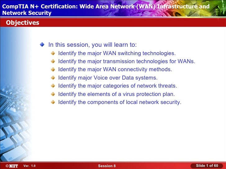 CompTIA N+ Certification: Wide AreaUsing Attended Installation Installing Windows XP Professional Network (WAN) Infrastruc...