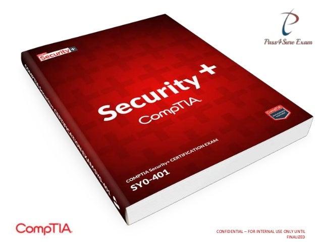 Comptia Security Certification Exam