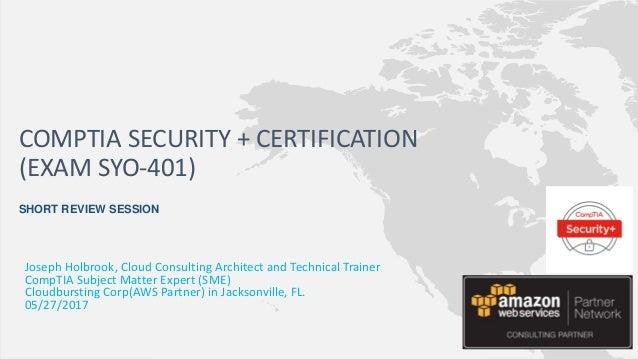 comptia security plus mini bootcamp session