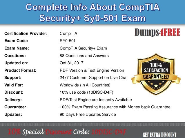security comptia exam 501 study sy0 questions certification test question practice actual