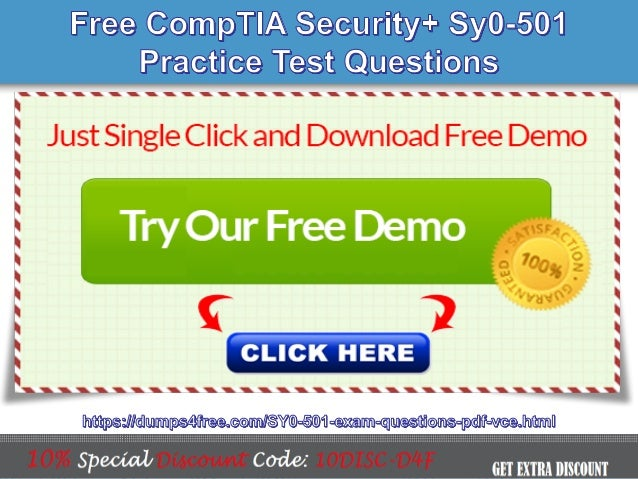 Comptia Security Sy0 501 Actual Exam Question Answers