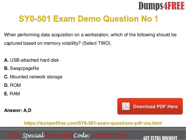 security study comptia exam sy0 certification answers