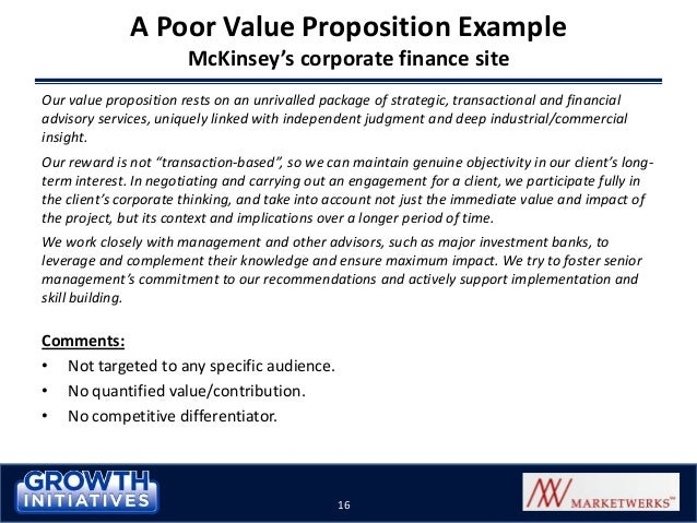 Selling Solutions Using a Compelling Value Proposition