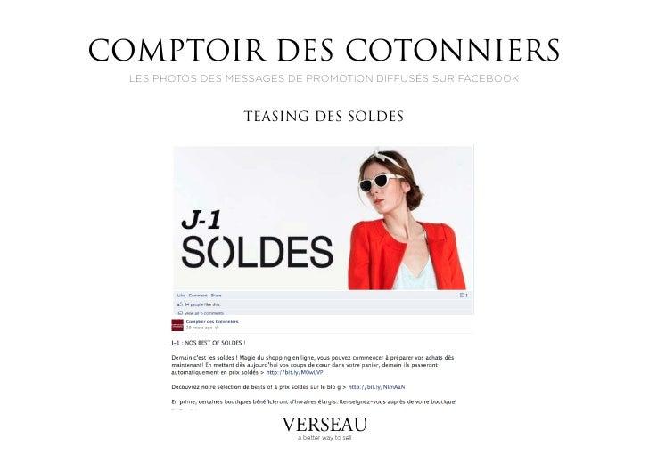 Lancement des soldes par la marque comptoir des cotonniers - Comptoir des familles soldes ...