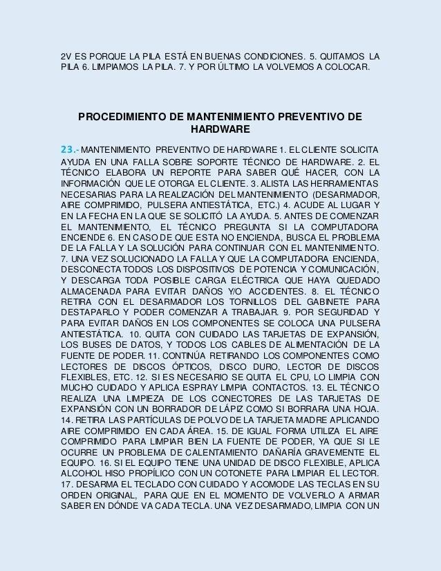 TRAPO Y ESPUMA ADECUADA. 18. DESARMA EL MOUSE CON CUIDADO DE NO ROMPER ALGUNA PARTE Y APLICA ALCOHOL HISO PROPÍLICO CON UN...