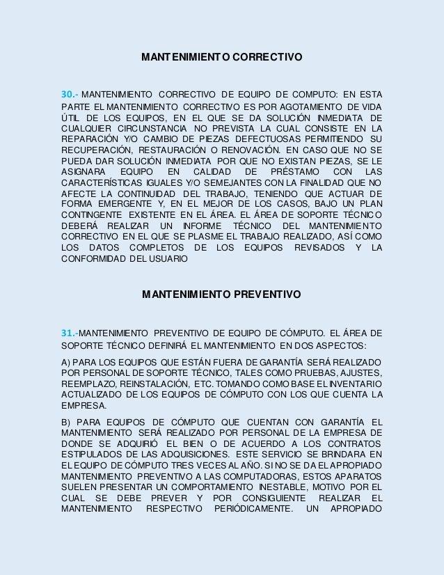 MANTENIMIENTO PREVENTIVO PUEDE AYUDAR A EXTENDER LA VIDA DE UNA PC, Y MANTENERLA OPERANDO POR MÁS TIEMPO, EVITANDO ASÍ QUE...