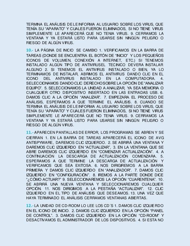 ES LA SOLUCIÓN LIMPIAOS LOS LENTES. 5. REVISAMOS EL CONTROLADOR Y CHECAMOS SI YA ESTÁ SOLUCIONADO. 6. CERRAMOS VENTANAS AB...