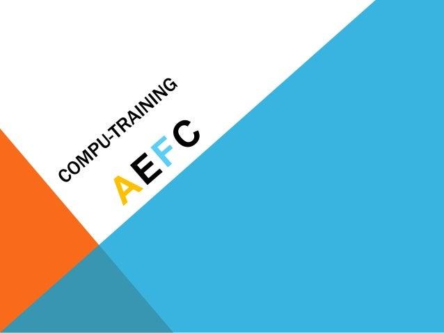 VOS EMPLOYÉS MANQUE D'INTÉRÊT DE D'ESPÉRIENCE SUR EXCEL? La Solution est le Compu-Training: Grâce à la société AEFC, Vous ...