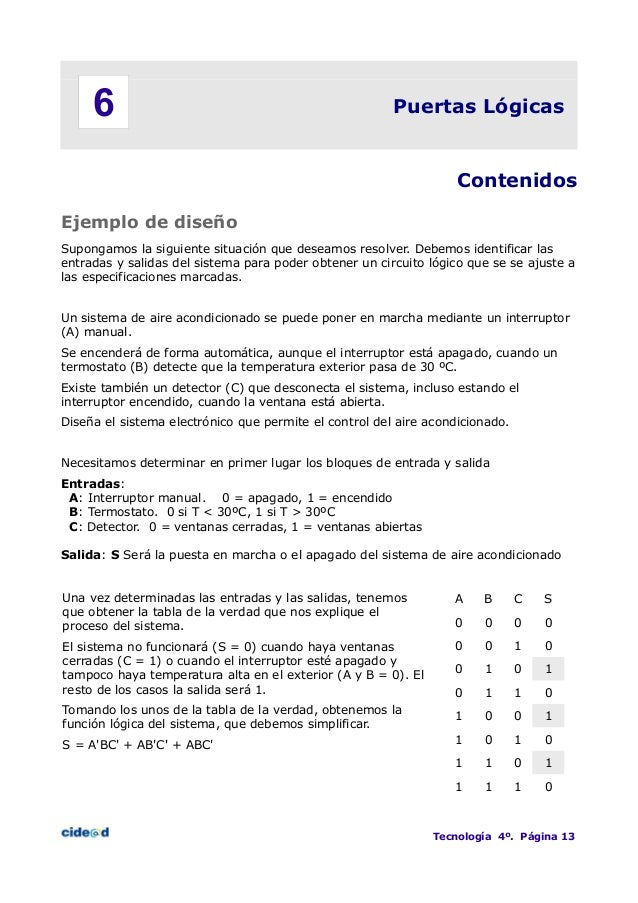 MANUAL COMPUERTAS LOGICAS PDF DOWNLOAD