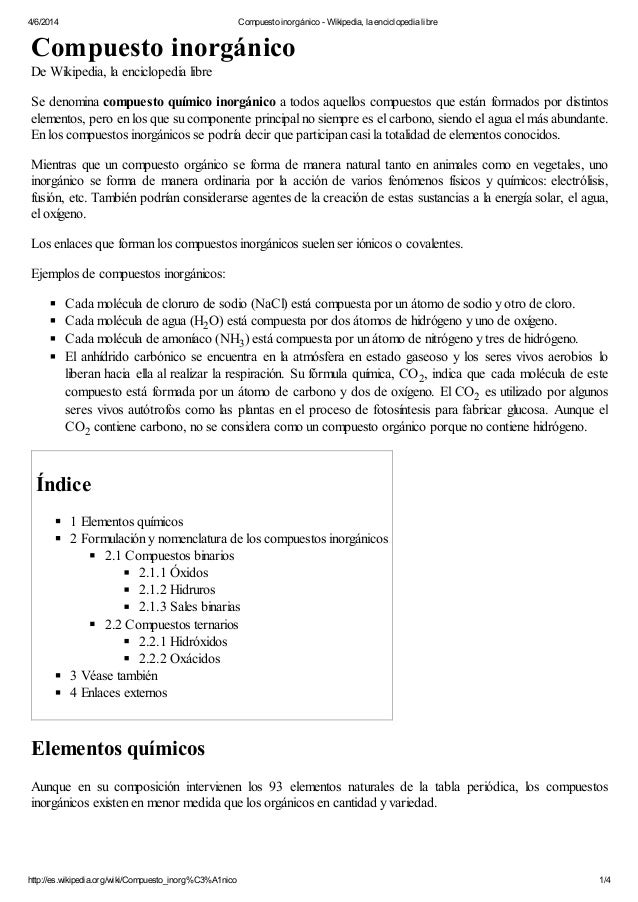 Compuesto inorgnico wikipedia la enciclopedia libre 462014 compuesto inorgnico wikipedia la enciclopedia libre compuesto inorgnico de urtaz Choice Image