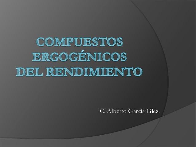 C. Alberto García Glez.