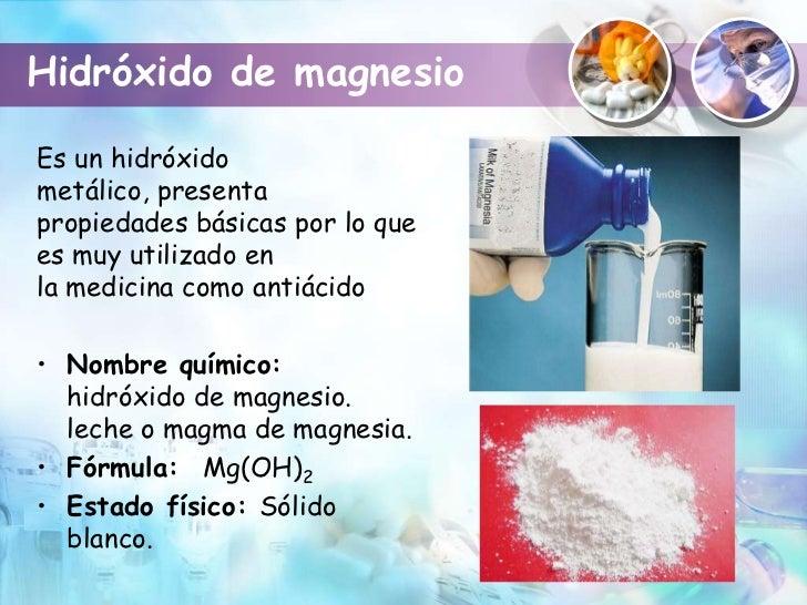 Compuestos qu micos de utilidad m dica - En que alimentos encontramos magnesio ...