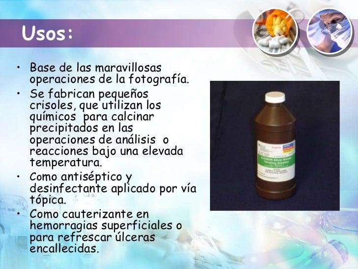 Compuestos químicos de utilidad médica