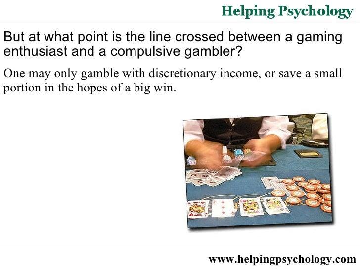 Psychology compulsive gambling ontario gambling help