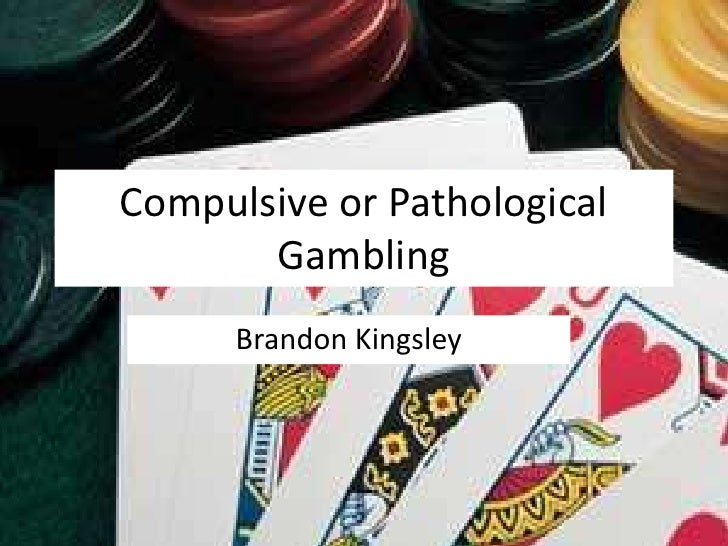 This is a oral presentation about Excessive Gambling Essay Sample