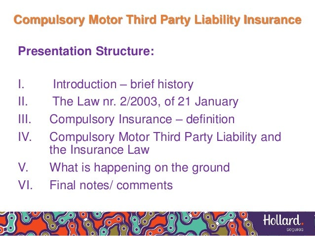 liabilities to 3rd parties A third-party refers to a person or entity who is not the purchaser or the vendor  to a contract or agreement [1] liability insurance then, is coverage meant to.