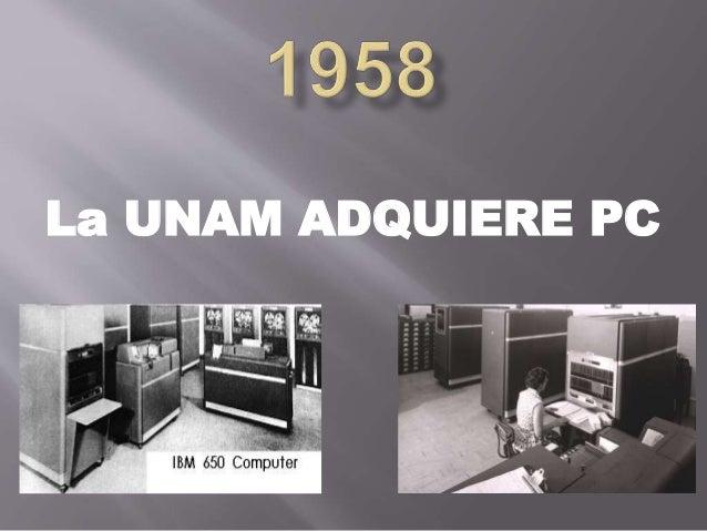La UNAM ADQUIERE PC