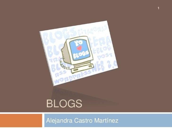 1BLOGSAlejandra Castro Martínez