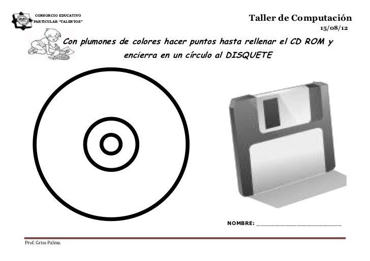 """CONSORCIO EDUCATIVO    PARTICULAR """"TALENTOS""""                                                                Taller de Comp..."""