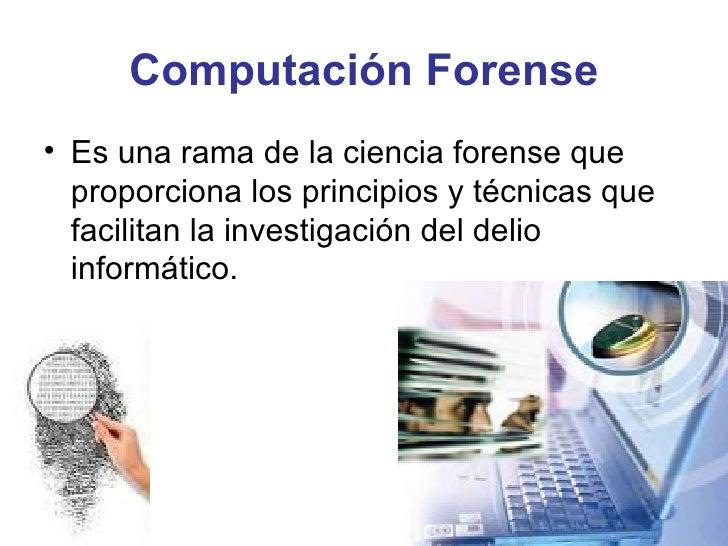 Computación Forense Slide 3