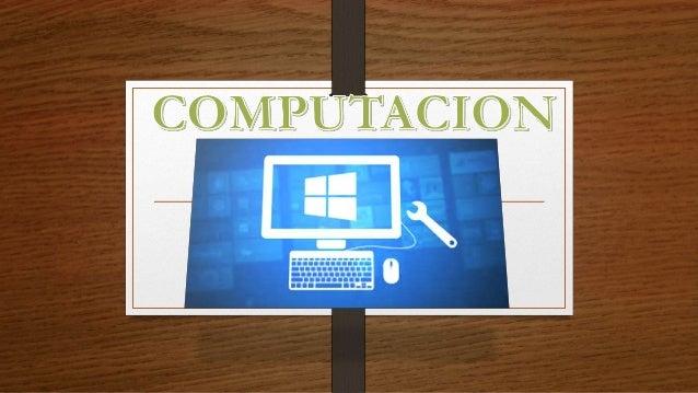 COMPUTACION El término computación tiene su origen en el vocablo en latín computatio. Esta palabra permite abordar la noci...