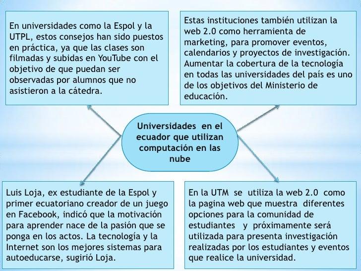 En universidades como la Espol y la UTPL, estos consejos han sido puestos en práctica, ya que las clases son filmadas y su...