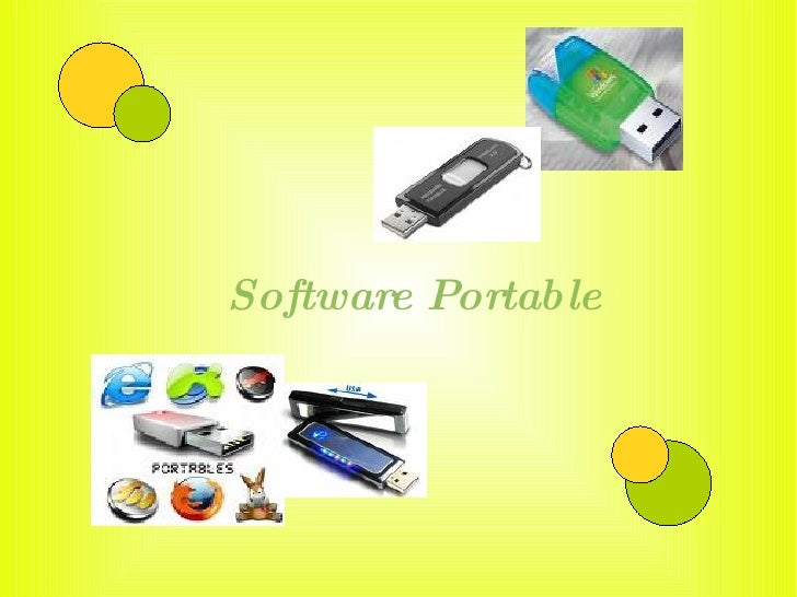 Software Portable