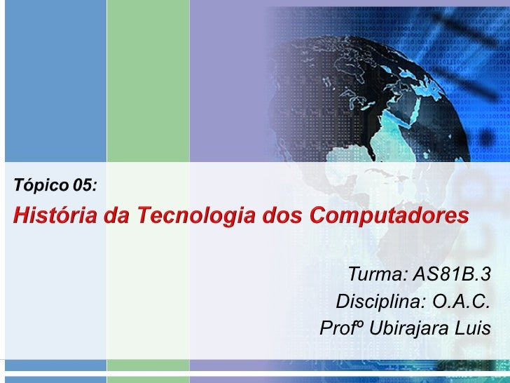 Turma: AS81B.3 Disciplina: O.A.C. Profº Ubirajara Luis