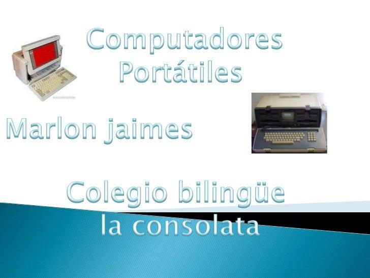 La primera computadora portátil considerada como tal fue la EpsonHX-20, desarrollada en 1981, a partir de la cual se obser...