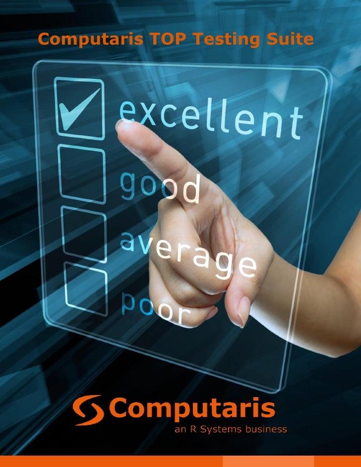 Computaris TOP Testing Suite