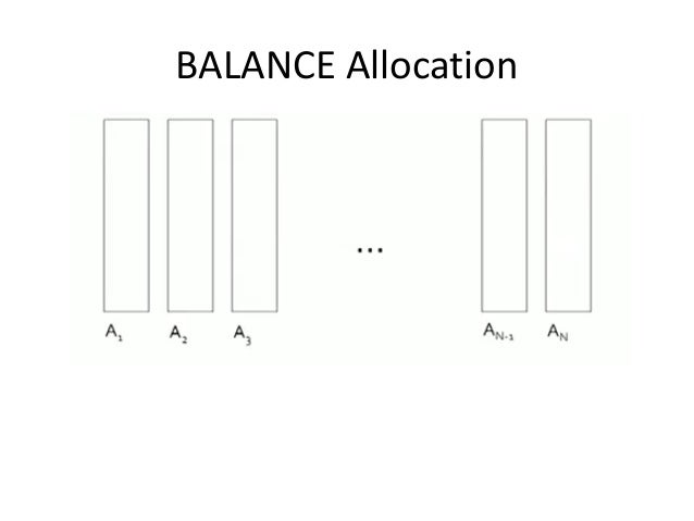 BALANCE Allocation
