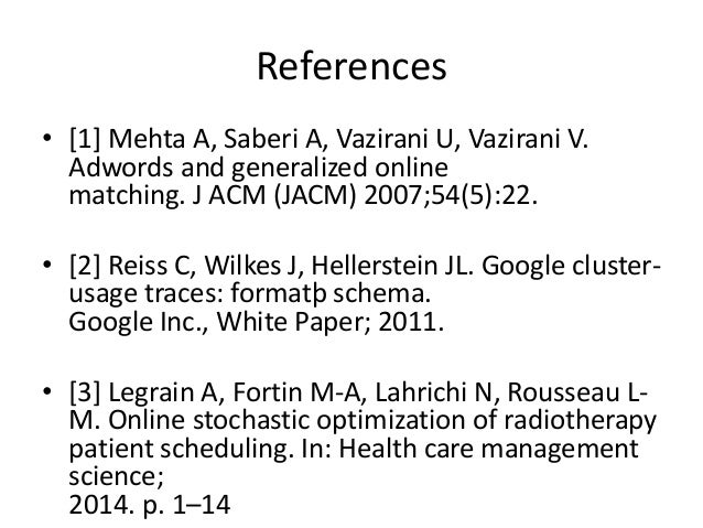References • [4] Coy P. The secret to google's success. 〈http://www.bloomberg.com/bw/stories/ 2006-03-05/ the-secret-to-go...