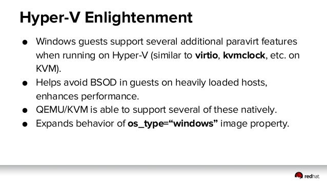 Libvirt/KVM Driver Update (Kilo)