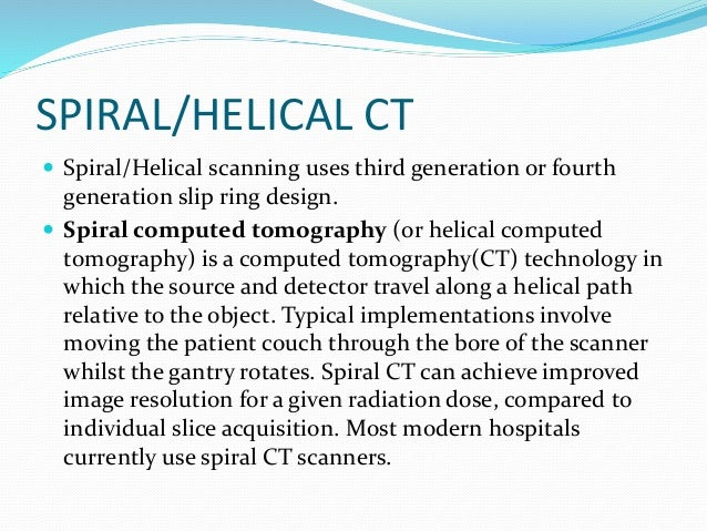 Computed Tomography Data Acquisition : Computed tomography