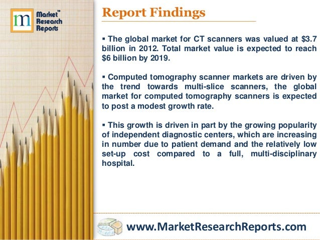 Computed Tomography (CT): Market Shares, Strategies, and Forecasts, Worldwide, 2013 to 2018 Slide 3