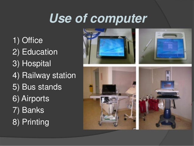 the role of computer in banking Information and communication technology (ict)  1department of computer science,  information and communication technology,.