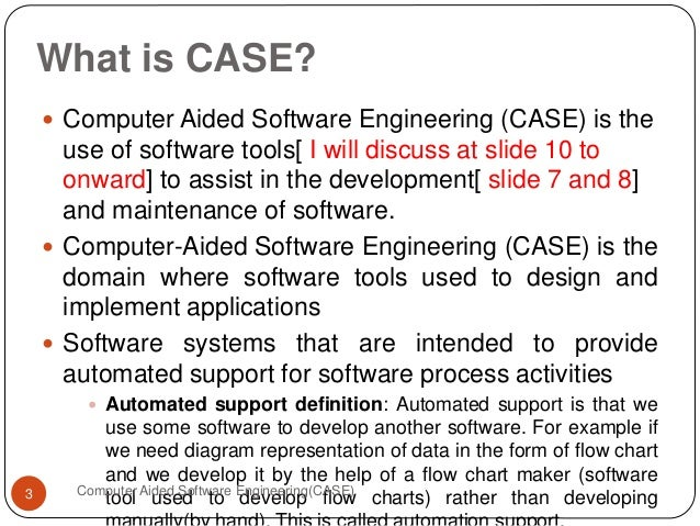 Computer Aided Software Engine...