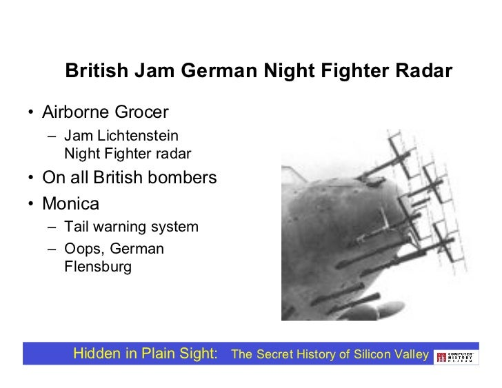 British Jam German Night Fighter on stalker radar, genesis versapak directional radar, police radar,
